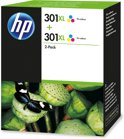 HP 301XL - Inktcartridge / Kleur / 2 Pack