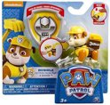 Paw Patrol pup Rubble + Badge