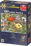 Jan van Haasteren Camping - Puzzel - 150 stukjes