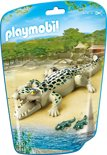 Playmobil Alligator met baby's - 6644