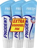 Prodent Freshgel - 75 ml - Tandpasta - 3 stuks - Voordeelverpakking