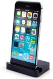 Apple iPhone 6 en 6 Plus USB Bureau Lader Desktop Charger Docking Station Zwart Black