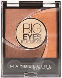 Maybelline Eye Studio Big Eyes 01 Luminous Brown - Oogschaduw