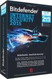Bitdefender Internet Security 2015  - 3 Gebruikers / 2 jaar / DVD
