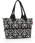 reisenthel shopper e1 - Tas - Polyester - Hopi black