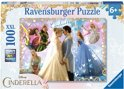 Disney Princess puzzel paars