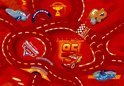 Disney Cars Vloerkleed World Of Cars Red