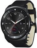 LG G Watch R smartwatch - Zwart met leren band
