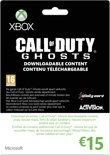 Microsoft Xbox Live Call Of Duty: Ghosts Giftcard 15 Euro - Xbox 360 + Xbox One