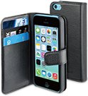 muvit iPhone 5C Wallet Case with 3 cardslots Black