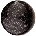 Grays Match ball Glitter - Veldhockeybal - Zwart