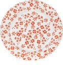 Kitchen Trend Products Ditsy Bord - Oranje - Ø 21 cm