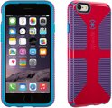 Speck iPhone 6 4.7 inch CandyShell Grip (Lipstick Pink / Jay Blue Core 3)