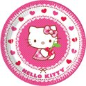 Hello Kitty plates, 8pcs.