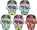 Candy Skull Glitter Tattoos