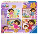 Ravensburger 4-in-1 Puzzel - Dora