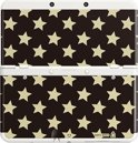 New Nintendo 3DS, Coverplate Stars Black