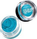 Maybelline Eye Studio Color Tattoo 20 Turquoise Forever - Blauw - Oogschaduw