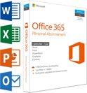 Microsoft Office 365 Personal - Nederlands / 32-bit/64-bit / 1 gebruiker / 1 apparaat / 1 jaar / Productcode zonder DVD