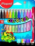 Color'peps Jungle viltstiften - medium penpunt x 12