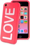 PURO iPhone 5C Back Cover Night Glow Love - Roze