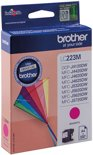BROTHER LC-223 inktcartridge magenta standard capacity 550 pagina's 1-pack