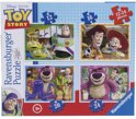 Ravensburger 4-in-1 Puzzel - Toy Story 3