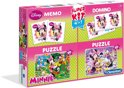 Clementoni Superkit 4 in 1 - Minnie Mouse