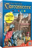 Carcassonne + Mini Uitbreiding Kloosters - Bordspel