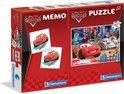 Cars 2 Memo + Puzzel 60St