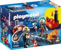 Playmobil Brandweermannen met brandslang - 5365