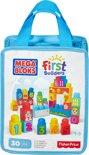 Mega Bloks First Builders 30 Maxi blokken met tas