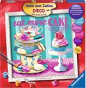 Eat more Cake - Knutselset Verven