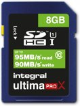 Integral UltimaProX SDHC 8GB (Class 10)