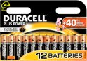 Duracell Plus Power AA Alkaline Batterijen 12x Pak