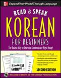 Read and Speak Korean for Beginners with Audio CD