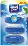 Ambi Pur Fresh Water & Mint - Navulling 3 x 55 ml - Toiletblok