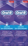 Oral-B 3D White Glans & Verzorging - 2x75ml - Tandpasta