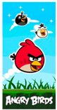 Angry Birds Strandlaken - 70x140 - Blauw - Red Bird