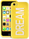 PURO iPhone 5C Back Cover Night Glow Dream - Geel
