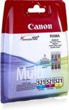 Canon CLI-521 - Inktcartridge / Cyaan / Magenta / Geel / Multipack