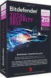 Bitdefender Total Security Multi-Device 2015 - 5 gebruikers / 2 jaar / Onbeperkt aantal Apparaten / DVD