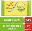Zwitsal lotion   - 24x 72st - billendoekjes