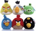 Rode Angry Bird knuffel Regular Red