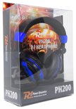 Power Dynamics PH200 DJ koptelefoon Blauw