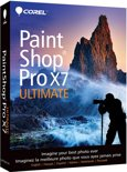 Corel PaintShop Pro X7 (17) Ultimate - Nederlands/ Frans/ DVD