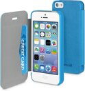 Muvit - Easy Folio Case - iPhone 5 / 5s - blauw