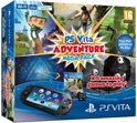 Sony PlayStation Vita Handheld Console  WiFi + Mega Pack Adventure Voucher + 8GB Memory Card - Zwart PS Vita Bundel