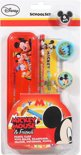 Mickey Mouse etui met accessoires 6-delig