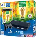 Sony PlayStation 3 Console 500GB Super Slim + 1 Wireless Dualshock 3 Controller + FIFA 14: World Cup Brazil 2014 - Zwart PS3 Bundel
